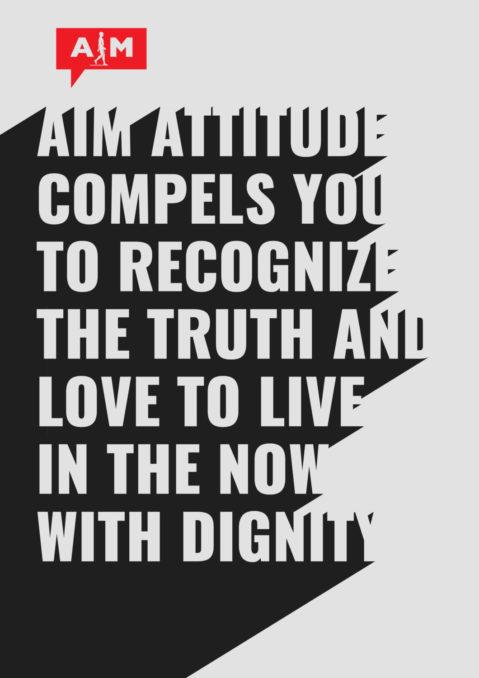 3D Text Art_aim_attitude v2