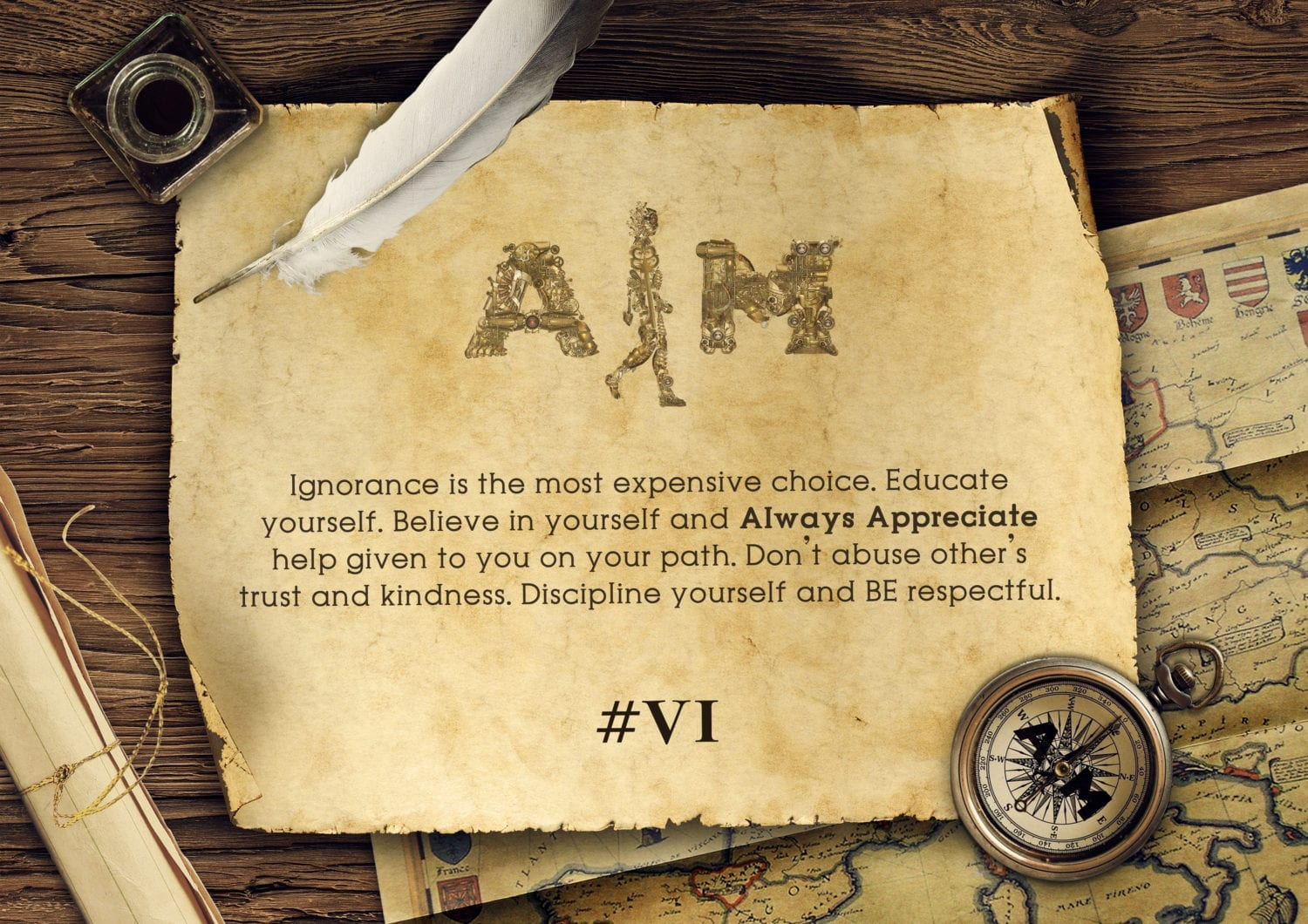 Aim attitude key elements image version II #6