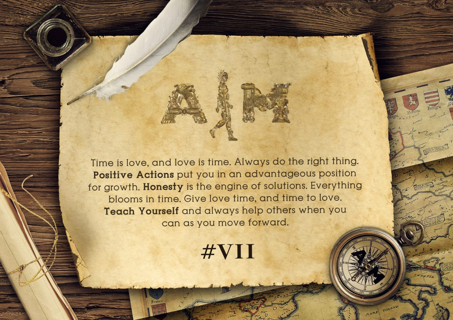 Aim attitude key elements image version II #7