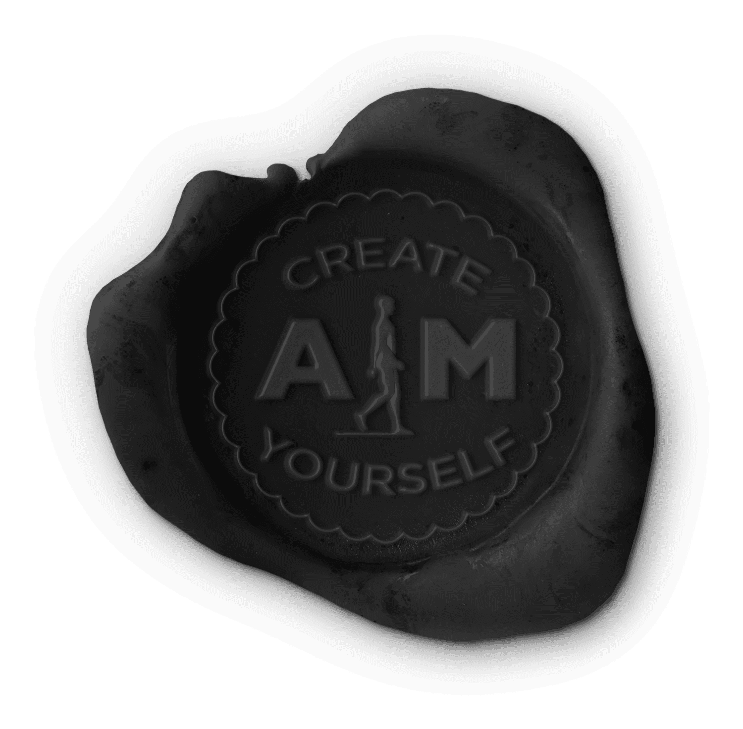 Aim_attitude_create_yourself_waxstamp