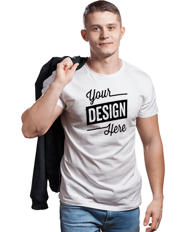 Male T-shirt Mock-up-Recovered-Recovered